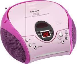 lenco scd 24 draagbare radio cd speler. Black Bedroom Furniture Sets. Home Design Ideas