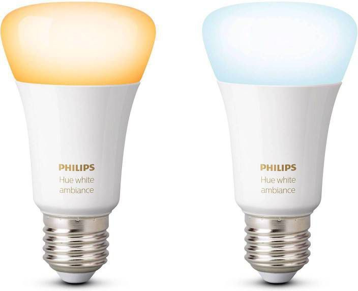 Stroomverbruik Hue Lampen : Philips hue ambiance e27 led lamp 2 pack klokken.shop